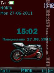 Super Moto Bike By ROMB39 theme screenshot