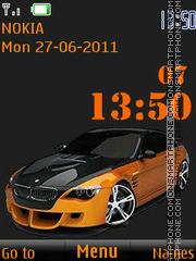 BMW in Orange By ROMB39 theme screenshot