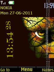 Demon's Eye By ROMB39 theme screenshot