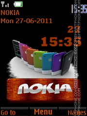 Скриншот темы Nokia and Apple By ROMB39