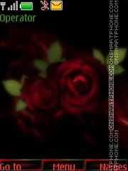 Foto art roses theme screenshot