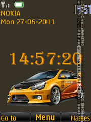 Tuning Slide Yellow By ROMB39 es el tema de pantalla