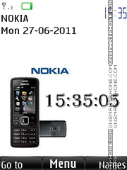 Nokia 6300 By ROMB39 theme screenshot