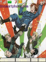 Hetalia! tema screenshot