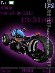 Extravagant Bike By ROMB39 tema screenshot
