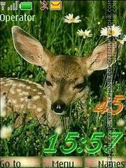 Deer swf es el tema de pantalla