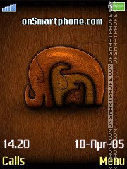 3 Elephants es el tema de pantalla