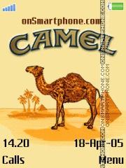 Camel Cigarety es el tema de pantalla