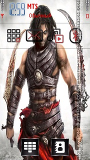 Prince of persia tema screenshot