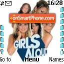 Girls Aloud theme screenshot