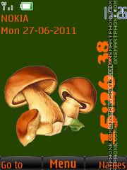 For collectors of Mushrooms By ROMB39 es el tema de pantalla