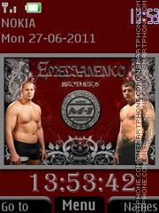 Emelianenko Brothers By ROMB39 theme screenshot