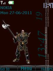 Barbarian By ROMB39 theme screenshot