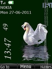 Beautiful Swan By ROMB39 theme screenshot