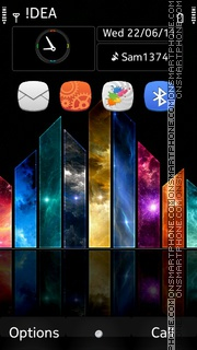 Hd Colours tema screenshot