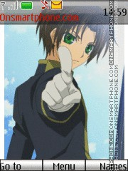 Teito Klein 07 Ghost tema screenshot