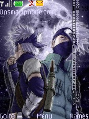 Hatake Kakashi theme screenshot