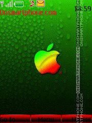 Apple-2 by RIMA39 es el tema de pantalla