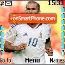 Zinedine Zidane 01 es el tema de pantalla