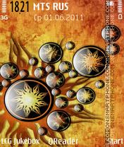 Sun-art theme screenshot