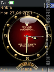 Rolex With Tone theme screenshot