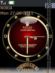 Скриншот темы Rolex With Tone