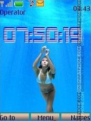 Jessica Alba swf theme screenshot