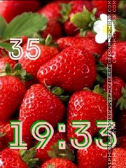 Strawberry swf es el tema de pantalla