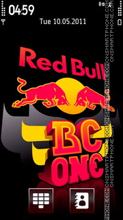 Red Bull 06 theme screenshot