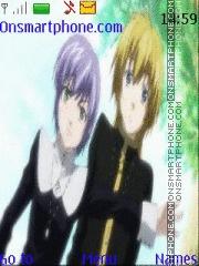 Скриншот темы Saint Seiya Lost Canvas