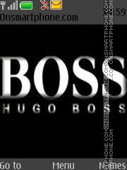 Hugo boss theme screenshot