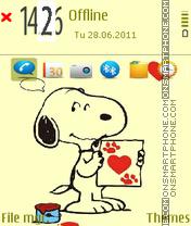 Snoopy 06 es el tema de pantalla