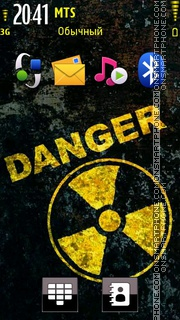 Danger 12 tema screenshot