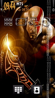 Kratos 02 theme screenshot