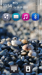 Sea Stone - Symbian Anna theme screenshot