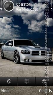 Dodge charger theme screenshot