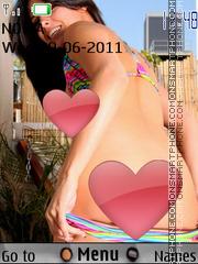 Sexy model167 theme screenshot