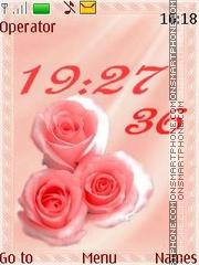 Tenderness roses swf theme screenshot