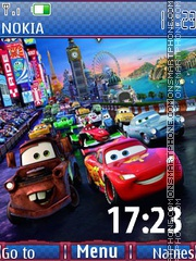 Cars2 theme screenshot