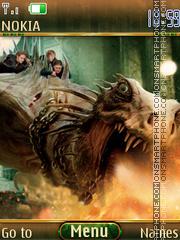 Скриншот темы Deathly hallows II