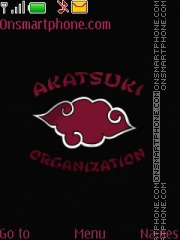 Akatsuki organization tema screenshot