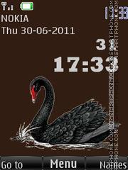 Black swan By ROMB39 theme screenshot