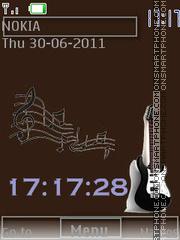 Guitar 1 By ROMB39 theme screenshot