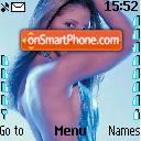 Toni Braxton theme screenshot