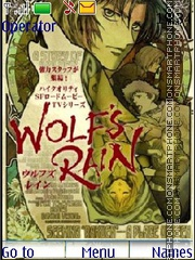 Wolf's Rain by Mimiko theme screenshot
