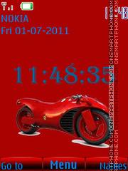 Moto Ferrari By ROMB39 Theme-Screenshot