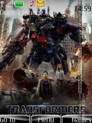 Capture d'écran Transformers 3 Mp3 thème