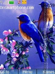 Nature Birds theme screenshot