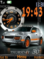 Porsche Cayenne 03 theme screenshot