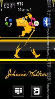 Johnnie Walker 01 theme screenshot